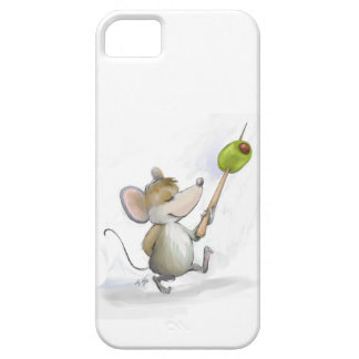 Merry Mouse Moe with Olive iPhone SE/5/5s Case