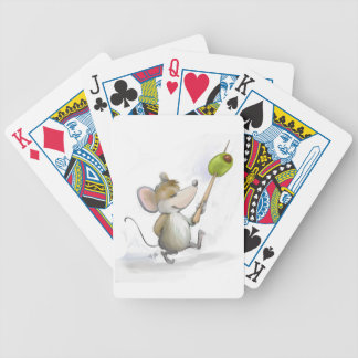 Merry Mouse Moe with Olive Playing cards