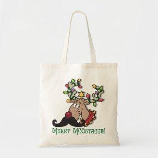 Merry Mustache Bag