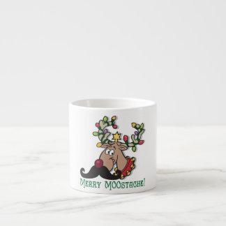 Merry Mustache Espresso Cup