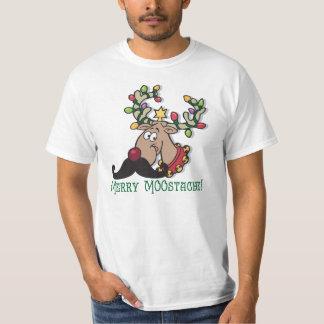Merry Mustache T-Shirt