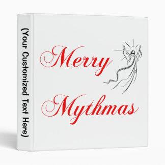 Merry Mythmas Vinyl Binders