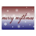 Merry Mythmas Greeting Card