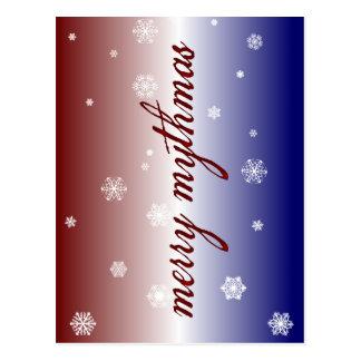 Merry Mythmas Postcard