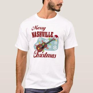 Merry Nashville Christmas Men's Basic T-Shirt