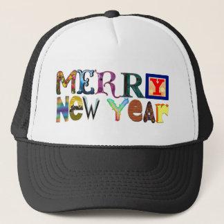 Merry New Year Trucker Hat