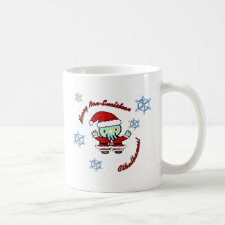 Merry Non-Euclidean Cthulhumas Coffee Mug