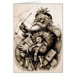 Merry Old Santa Claus Card