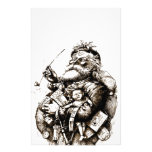 Merry Old Santa Claus Customized Stationery