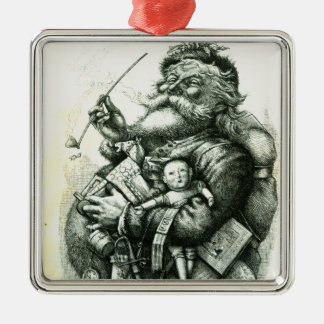 Merry Old Santa Claus Christmas Ornament