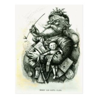 Merry Old Santa Claus Postcard