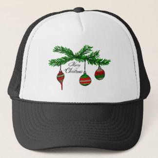 Merry Ornaments Trucker Hat