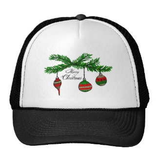 Merry Ornaments Trucker Hat