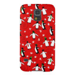Merry Penguins Galaxy S5 Cases