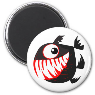 Merry Perry 2 Inch Round Magnet