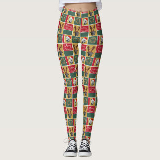 Merry Pitmas Leggings