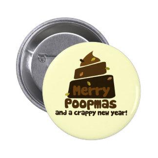 Merry Poopmas Button