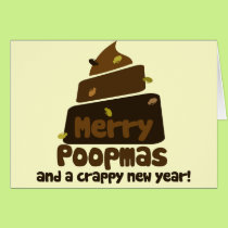 Merry Poopmas Funny holiday Card
