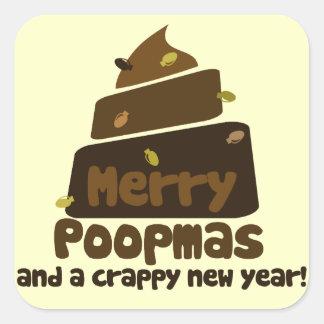 Merry Poopmas Sticker