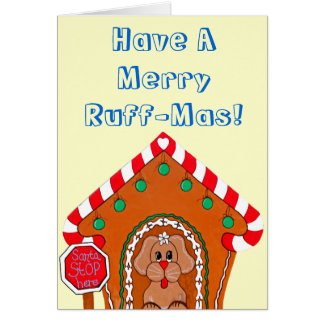 Merry Ruffmas Greeting Cards
