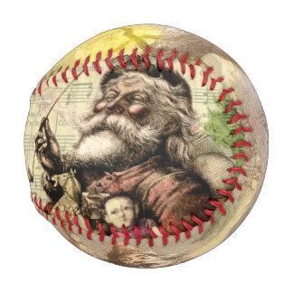 Merry Santa Claus and The Christmas Tree Baseball