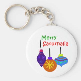 Merry Saturnalia Key Chain