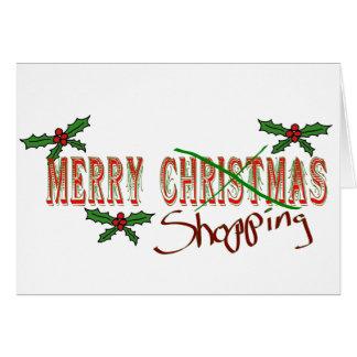 Merry Shopping Card