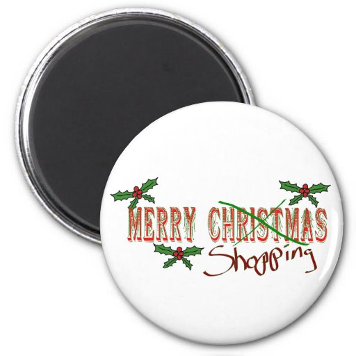Merry Shopping Magnets