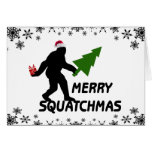 Merry Squatchmas Greeting Card
