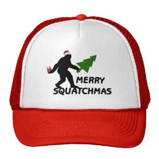 Merry Squatchmas Trucker Hat