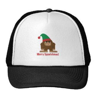 Merry Squatchmas! Trucker Hats