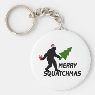 Merry Squatchmas Key Chain