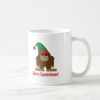 Merry Squatchmas! Mugs