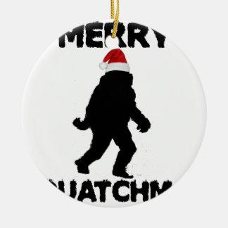 Merry Squatchmas Ornaments