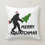 Merry Squatchmas Pillows