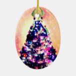 Merry Squid-mas Squid Christmas Tree Ornament
