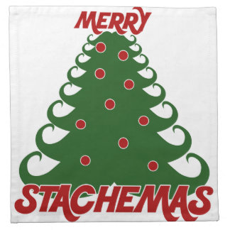 Merry Stachemas Cloth Napkin