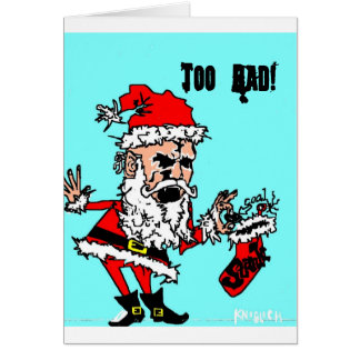Merry Stankmas...Too Bad Card