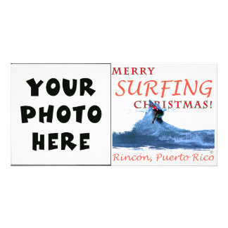 Merry Surfing Christmas! Card