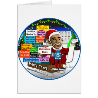 Merry Taxes Greeting Card