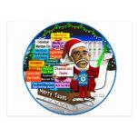 Merry Taxes Post Card