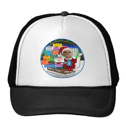 Merry Taxes Trucker Hat