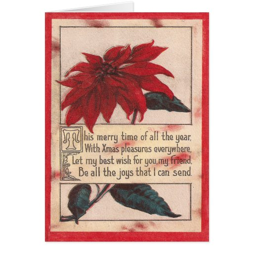 Merry Time Christmas Greeting Card