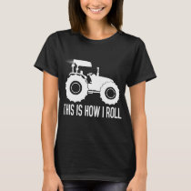 Merry tractor saying T-Shirt