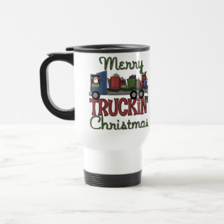 Merry Truckin' Christmas Travel Mug