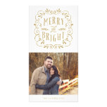 Merry Type   Holiday Photo Cards