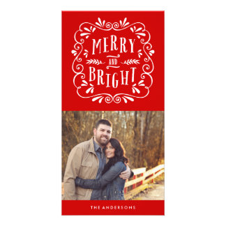 Merry Type | Holiday Photo Cards