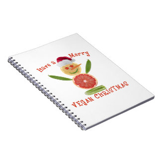 Merry Vegan Christmas Notebook