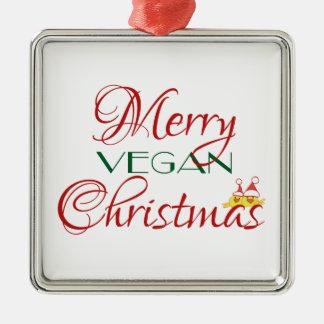 Merry Vegan Christmas Christmas Tree Ornaments