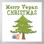 Merry Vegan Christmas Print